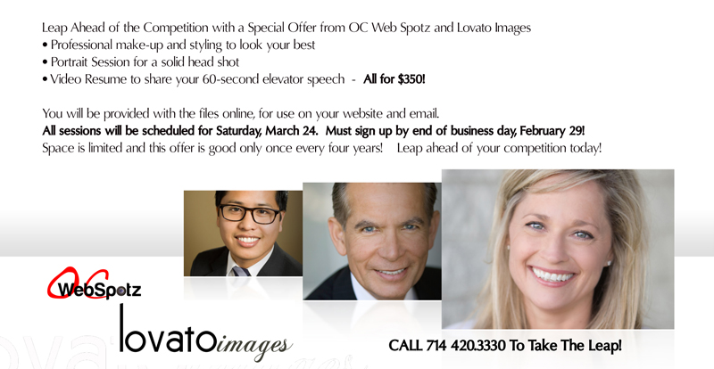professional headshots in orange www.lovatoimages.com