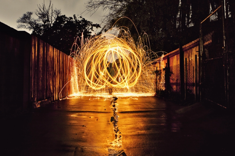 street photography steel wool