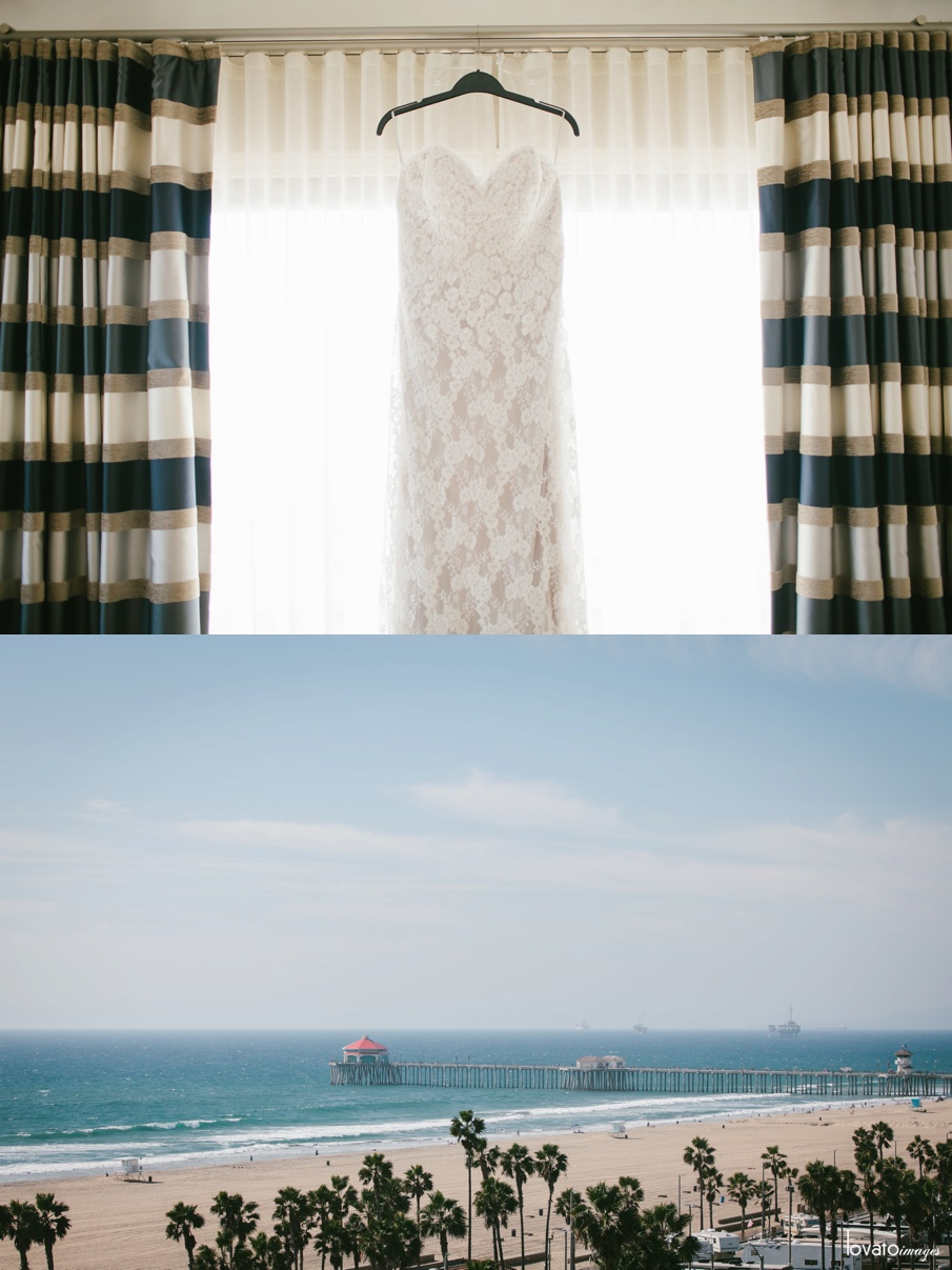 huntington beach waterfront hilton wedding